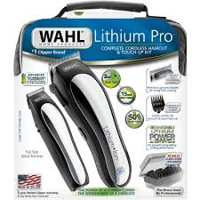 Kitchen Cabinet Touch Up Kit by Wahl Lithium Pro Complete Cordless Hair Clipper U0026 Touch Up Kit