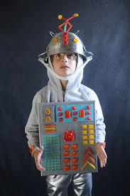 Kids Robot Halloween Costume Pasta Costumes Robot Project Kid