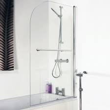 barmby straight shower bath 1700 x 700mm with 6mm curved shower