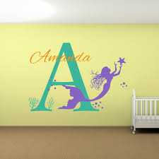 Wall Name Decals For Nursery by Compare Prices On Mermaid Panels Online Shopping Buy Low Price