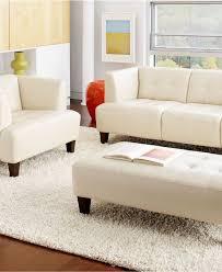 Macys Living Room Furniture Alessia Leather Sofa Living Room Furniture Sets Pieces