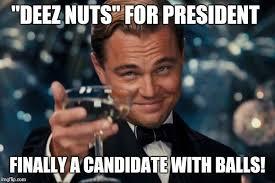 Presidential Memes - leonardo dicaprio cheers meme imgflip