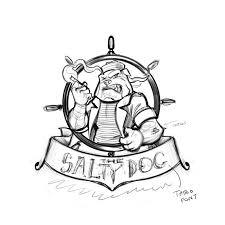 sailor bulldog logo design flyland designs freelance