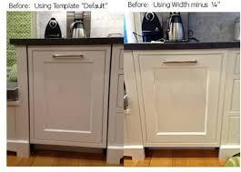 Dishwasher Size Opening Dishwasher With Cabinet Front
