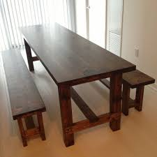 Best Chunky Dining Table Images On Pinterest Dining Room - Dining room table bench