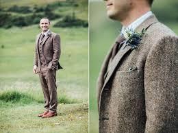 wedding groom the 25 best brown suit wedding ideas on tweed groom