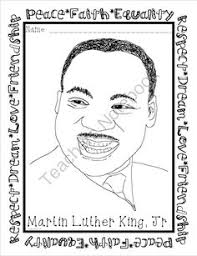 Martin Luther King Jr Coloring Pages Fashion Pinterest Peace Dr Martin Luther King Jr Coloring Pages