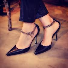 49 highly anklet chain designs for stunning beautiful