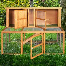 4ft Rabbit Hutch With Run Home U0026 Roost U2013 5ft Kendal Luxury Rabbit Hutch And Run Combo