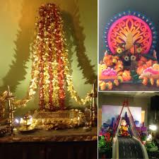 Decoration For Puja At Home by Ganesh Chaturthi Bombay Belle