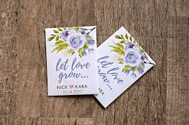 custom seed packets 50 count custom seed favors personalized and complete with seeds