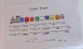 kindergarten kindergarten ordinal numbers