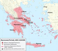 Sparta On Map Mycenaean Greece Wikipedia