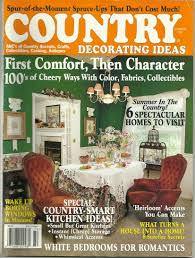 buy country decorating ideas magazine summer 1997 in cheap price