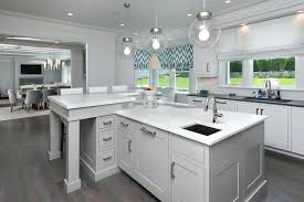l shaped island u shaped kitchen with island dimensions trendyexaminer