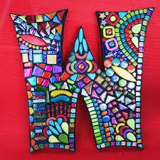 509 best decorative letters images on pinterest mosaic ideas