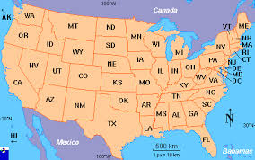 us map states us map usa a map of the united states of america best 25 united