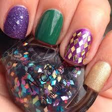 mardi gras nail aggies do it better mardi gras tuesday nails