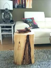 tree stump coffee table stump end table tree stump end table coffee table wonderful tree