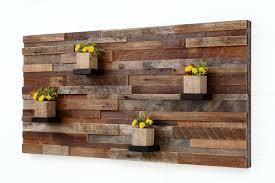 wall decor made of wood handmade wood wall with wood shelves 48 by carpentercraig