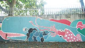 the story behind the dolphin murals on the street nolisoli be profile ag sano dolphin sano s murals