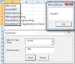 Count Words In Excel Vba For Excel 2007 Exle Count Words