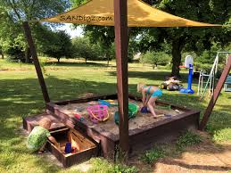 Sandboxes With Canopy And Cover by Sandbox Pictures Of Builds And Happy Kiddos Sandigz