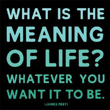 what is the meaning of whatever you want it to be