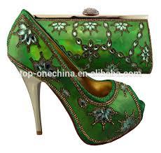 wedding shoes and bags green shoe matching italian shoe and bag set bruno