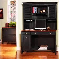 Black Computer Desk Corner Computer Desk For Gaming Black Color With Green Strip