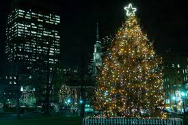 where to see boston christmas lights and holiday decorations
