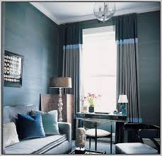 Silver And Blue Curtains Blue And Silver Striped Curtains Curtains Home Design Ideas