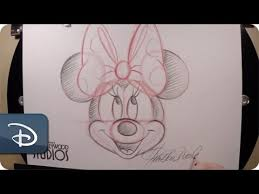 draw minnie mouse disney u0027s hollywood studios