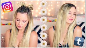 how to get instagram hair easy instagram hairstyles youtube