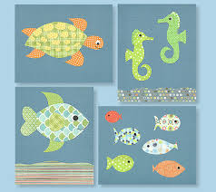 Fish Nursery Decor Nursery Decor Fish Nursery Blue And Green Nursery