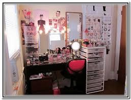 Homemade Makeup Vanity Ideas Makeup Vanity Organization Ideas Makeup Vidalondon