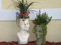 198 best head planters images on pinterest head planters garden