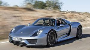 blue porsche spyder porsche 918 spyder sold out successor confirmed