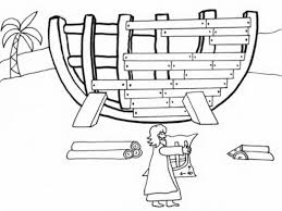 free printable noah ark bible coloring pages picture and 509481