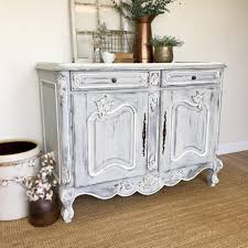 Country Vintage Home Decor Antique Sideboard Buffet French Country Furniture Vintage Home