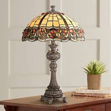 quoizel tiffany table lamps lamps plus