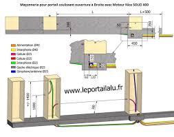 Portail Alu Coulissant Pas Cher by Mecanisme Portail Coulissant Electrique Portillon Pas Cher