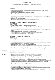 resume templates for experienced accountants near suffield reporting senior accountant resume sles velvet jobs