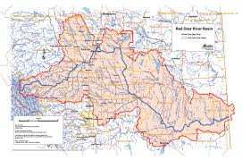 Map Of Saskatchewan Canada by Maps Of The Red Deer River Watershed Rdrwa