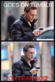 Tom Hiddleston Memes - one of my own memes on we heart it