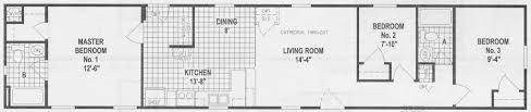 3 Bedroom Mobile Home 10 Great Manufactured Home Floor Plans