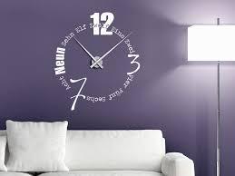 uhren f r wohnzimmer wohndesign anmutig wanduhr design modern ideen attraktiv