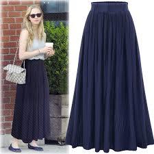 pleated skirt 2017 new high waisted pleated skirt dress all match pleated skirt