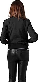 light bomber jacket womens urban classic women s ladies light bomber jacket darkolive xs