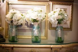 simple home wedding decoration ideas garden wedding round tables